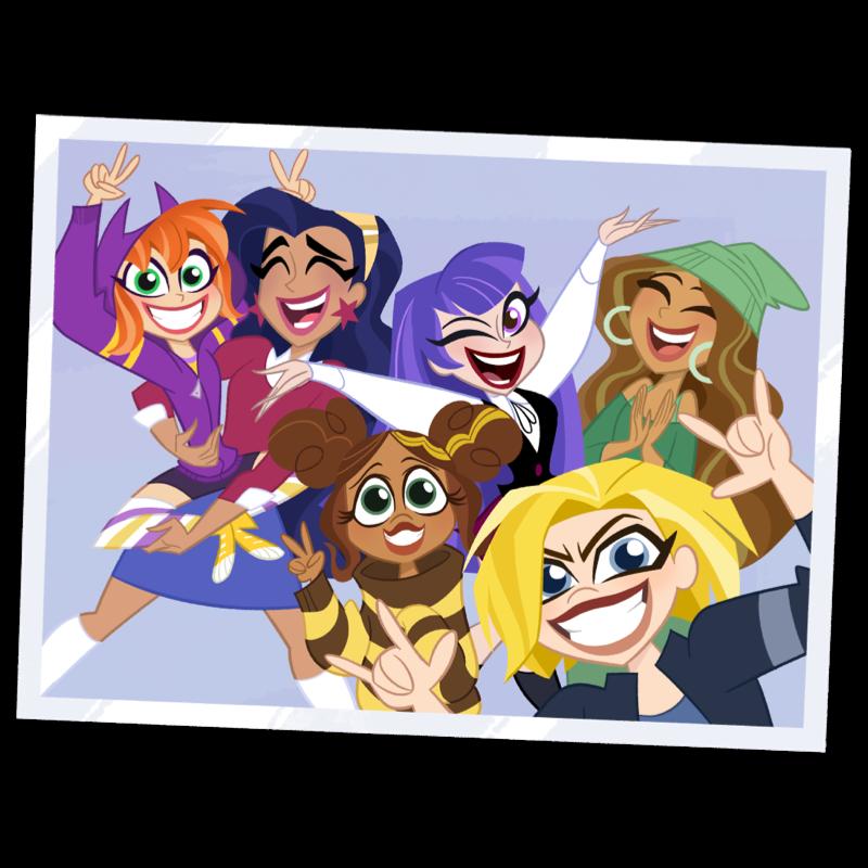 DC Superhero Girls - Dívčí superhrdinky
