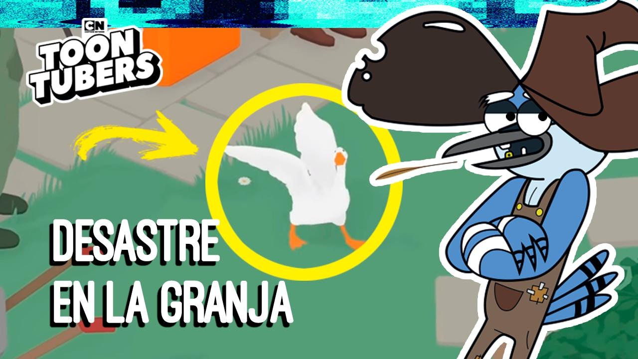 Untitled Goose Game - ¡ME CONVERTÍ EN UN GANSO Y MIRA LO QUE PASÓ!
